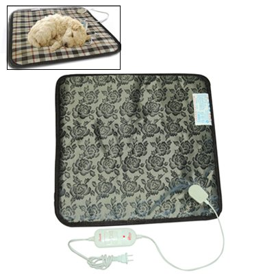 Cat Bed or Sofa hyx Pet Dog Cat Bunny Electric Heat Waterproof Mat Bed Heater Warming Pad, US Plug, Random color Delivery