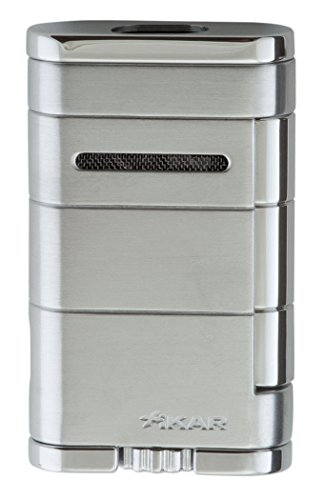 - Xikar Allume Double Jet Silver Lighter