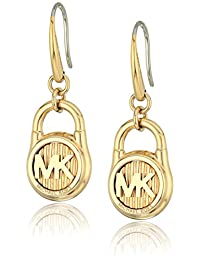 Michael Kors Hamilton -Tone Drop Earrings