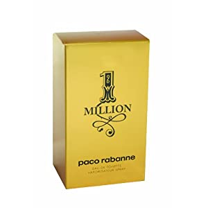 Paco Rabanne 1 Million By Paco Rabanne For Men Eau De Toilette Spray, 1.7-Ounce/50 Ml