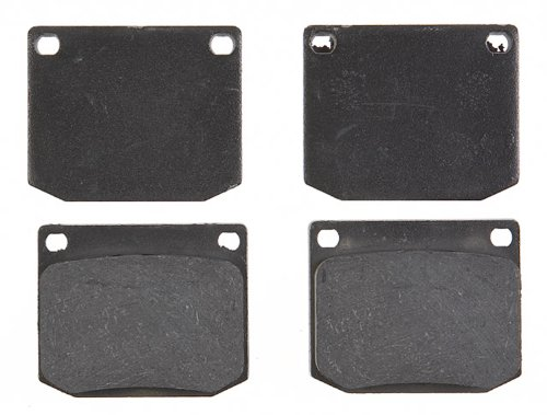 - ACDelco 17D2 Professional Organic Front Disc Brake Pad Set
