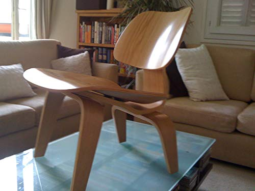 LCW Plywood Dining Chair in Pony Skin or Cowhide Leather for sale  Delivered anywhere in USA