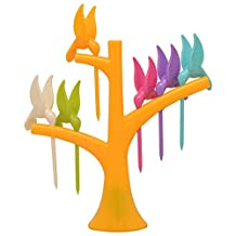 Prettysell Birdie Fruit fork Birds On The Tree Birds Fruit Forks Fruit Picks Kitchen Access