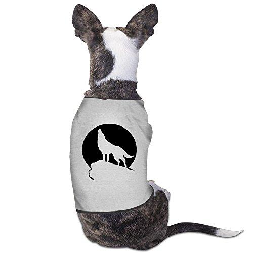 Howling Wolf Moon Dog Jackets Costumes New Pajamas Gray (Teenwolf Costumes)
