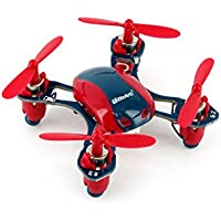 UDI U840 Mini 2.4G 6-Channel Nano RC Quadcopter with Extra Battery - Red