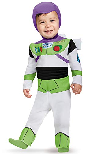 Disguise Costumes Buzz Lightyear Deluxe Costume (Infant), 6-12 -