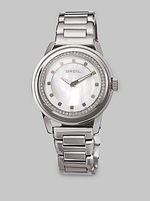 Breil Watch, Women's Orchestra Stainless Steel Bracelet TW1006