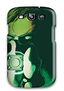 Nick Watson's Shop Lovers Gifts 2410369K20444791 Awesome Design Green Lantern Hard Case Cover For Galaxy S3