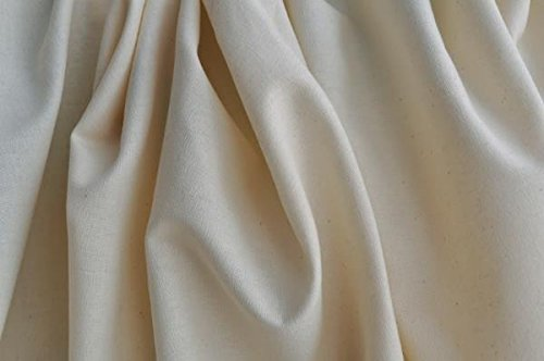 Organic Cotton Muslin Fabric - Natural - 10 Yards by Organic Cotton Plus (Image #1)