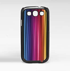 Colorful Rainbow Stripes Hard Snap on Phone Case (Galaxy s3 III)