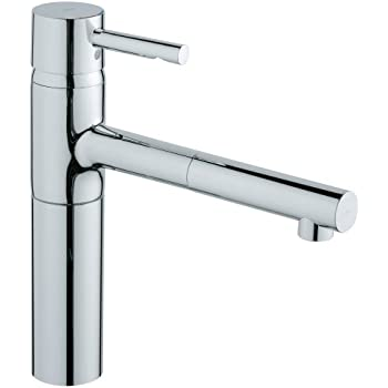 Grohe 32170000 Essence Single Spray Pull Out Kitchen Faucet