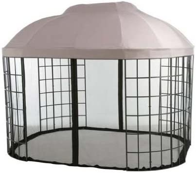 Garden Winds Oval Dome Gazebo Replacement Canopy Top Cover -RipLock 500