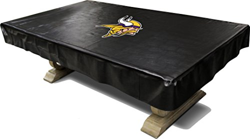 Imperial Officially Licensed NFL Merchandise: Billiard/Pool Table Naugahyde Cover, 8-Foot Table, Minnesota - Pool Minnesota Table