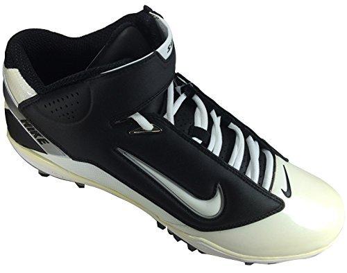 Nike LT Super Bad TD Football Cleat Black White US sz 13.5