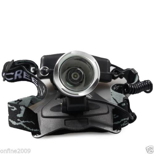 5000Lm CREE XML T6 LED Headlamp Headlight Rechargeable Zoomable Head Light Torch