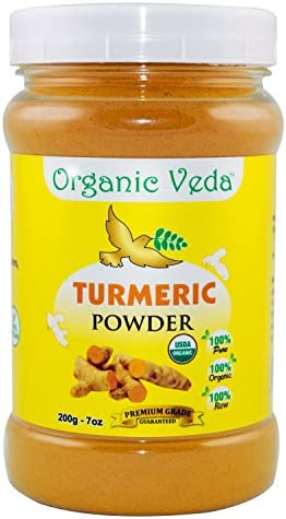 Organic Turmeric Powder Supplement Registered product image