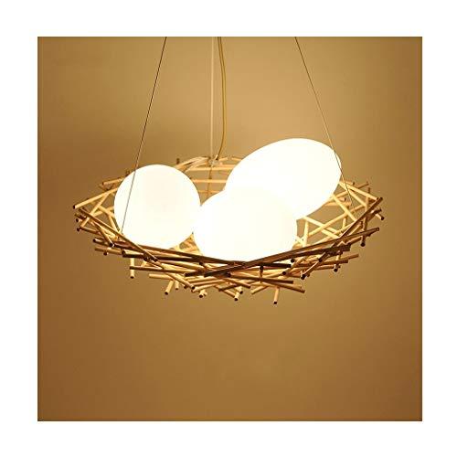 Chandelier@ Chandelier Nordic Creative Bird's Nest Pendant Light Simple Coffee...