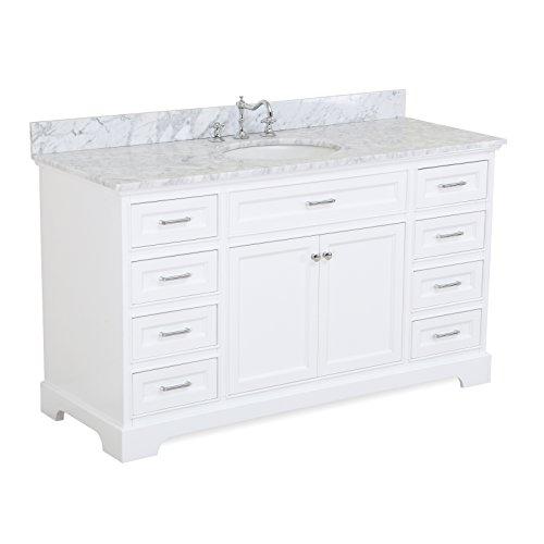 60 inch Single Bathroom Vanity Carrara product image