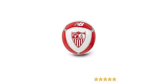 New Balance Mini Sevilla FC 2017-2018, Balón, Blanco-Rojo: Amazon ...