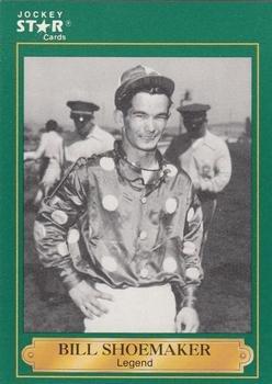 Bill Shoemaker: 1949 trading card (Horse Racing) 1991 Jockey Star #1