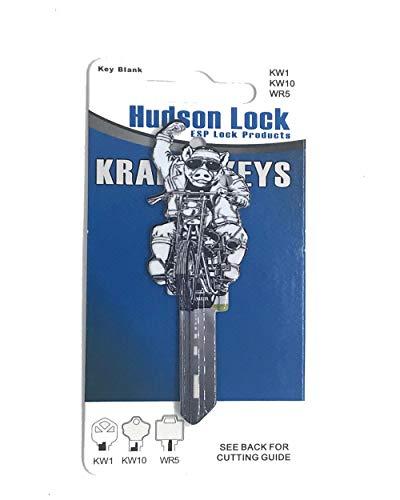 - Krafty Key Blank, HOG - KW1/KW10/WR5 (Sold Each)