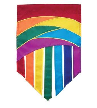 Rainbow Curves House Banner Tails- 28
