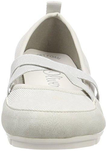 S Flats White Women''s Ballet oliver Comb offwhite 24616 vwqvT
