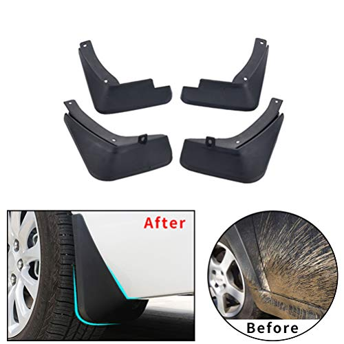 Upgraded Car Mud Flaps Mudguards for SUZUKI S-Cross 2015-2018 Front Rear Splash Guards Car Fender Styling /& Body Fittings Black 4Pcs
