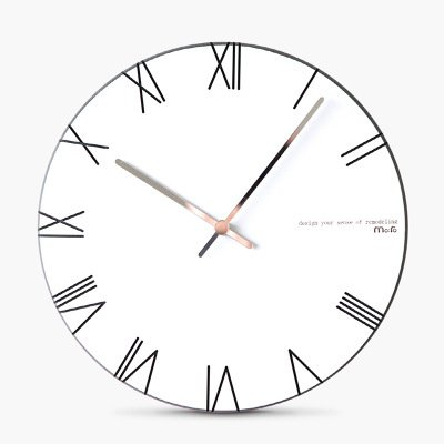 JQStar 木製 ローマ数字 壁掛け時計 北欧風  壁掛け時計 見易い シンプル 連続秒針 消音 面白い 壁掛け時計 創意  ファッション おしゃれ トレンディ 静音 石英 癒やし レーザー 彫刻 インテリア 3色選べる (ブラック) B078K6CZRK ブラック ブラック