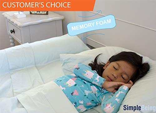 Simple Being Child Bed Rail Bumper, Portable Non-Skid Sleep