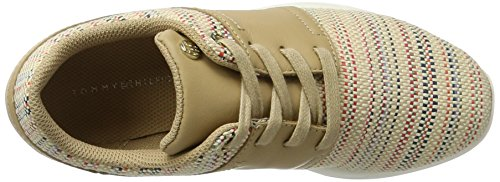 Basses Multi Sneakers 2z1 Beige S1285amantha Tommy Hilfiger Femme 910 Interweave 1wnIOq