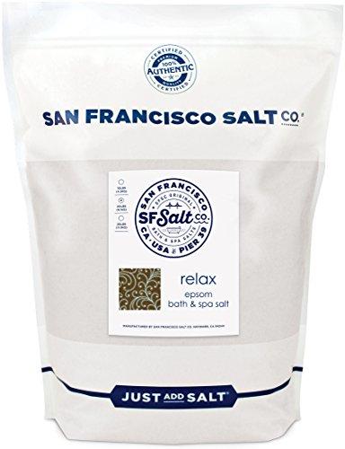 Relaxing Lavender Epsom Bath Salts Bulk 20lb Bag