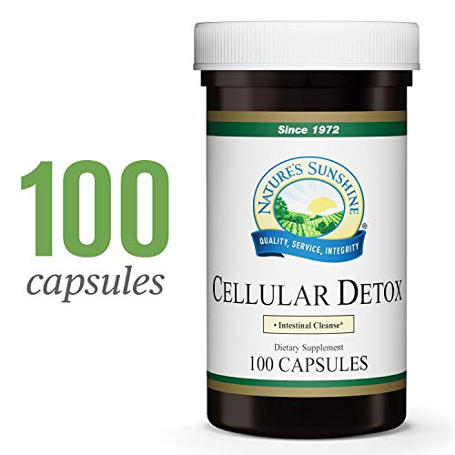 Nature's Sunshine Cellular Detox, 100 caps, Kosher