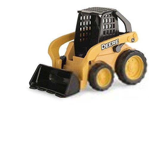 TOMY International John Deere Gear Force Worksite Skidsteer Vehicle - John Deere Skidsteer Toy