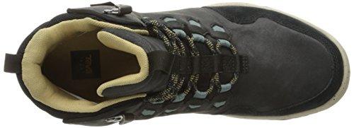 Teva Arrowood Lux Mid Wp M's, Zapatillas de Atletismo para Hombre Negro (Black)