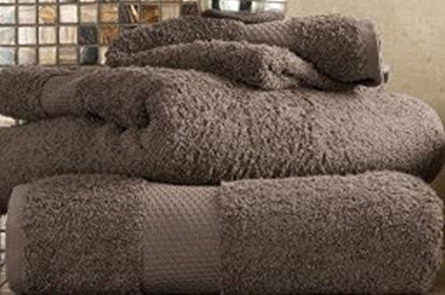 100% algodón egipcio toallas de Miami de 700 gsm Super absorbente, baño de mano, toalla de baño, marrón claro, 2 X Bath sheet: Amazon.es: Hogar