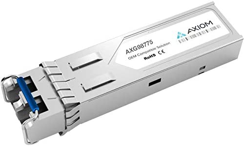 Mini-Gbic Equivalent to: Ixia 958-0030 up to 1800 ft - GigE Axiom AXG98775 SFP 850 Nm LC Multi-Mode Transceiver Module 1000Base-SX