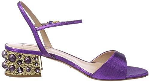 Sebastian S7559t, Sandales Bout Ouvert Femme Violet (Purple Delavi+ovi)