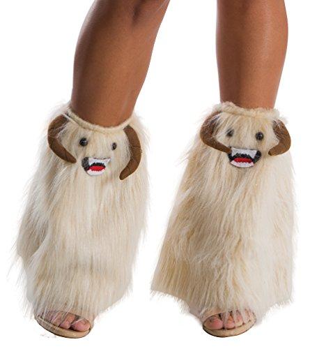 Wampa Costume (Rubie's Costume Co. Men's Adult Star Wars Faux Fur Wampa Legwear,As/Shown,One Size)
