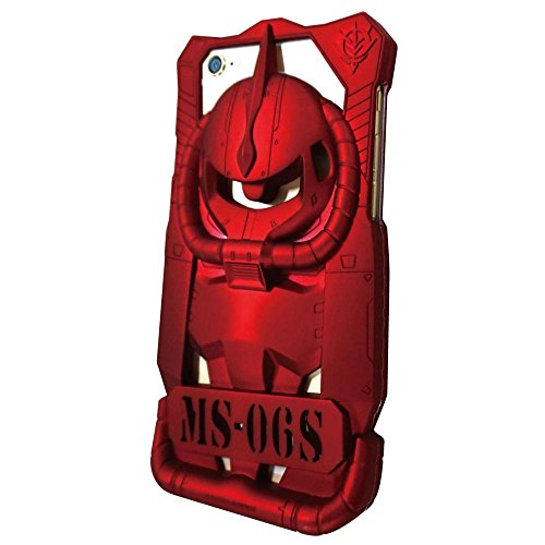 BANDAI  Mobile Suit Gundam iPhone6 Skeleton cover CHARS ZAKUⅡ Red GD-25A