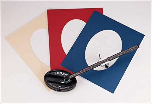 (Logan Model 201 Oval & Circle Mat)