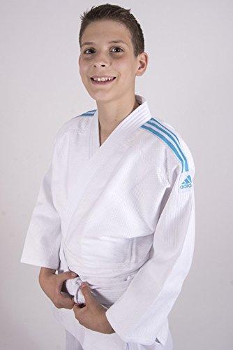 adidas Club GI Judo Traje Azul 130: Amazon.es: Deportes y ...
