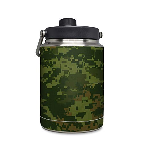 CAD Camo Protector Skin Sticker Compatible with Yeti Rambler 1/2 Gallon Jug - Ultra Thin Protective Vinyl Decal Wrap ()