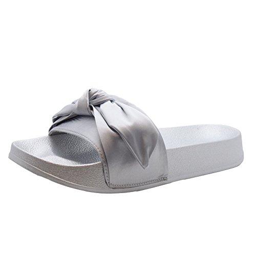 Chaussons Styles pour Gris Saute Femme Yx10w6g