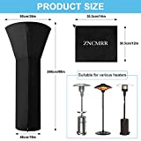 ZNCMRR Outdoor Patio Heater Covers with Waterproof