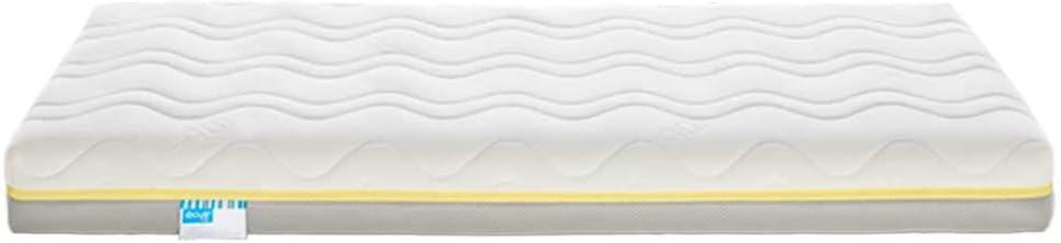 Ecus Kids, El colchón de cuna Oxsi Visco Plus efecto antiasfixia y viscoelástica ergonómica - Doble cara, una para verano y otra para invierno ayudar a prevenir la plagiocefalia - Colchón cuna 120x60