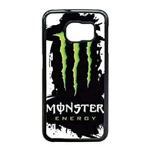 Special Design Cases Samsung Galaxy S6 Edge Cell Phone Case Black Monster Energy Vxptg Durable Rubber Cover
