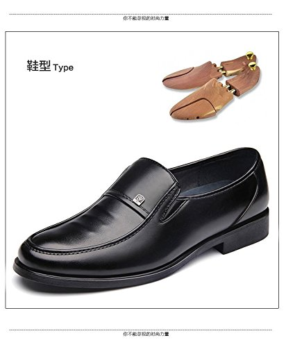 Comfort Business Moccasin Gaorui Slip Oxford Men Brown On Shoe Formal Driving Leather Loafers OYqf5qZw