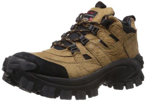 Woodland Men's Khaki Leather Boots - 7 UK/India (41 EU)