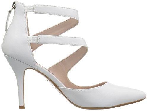 Women's White West Pump Leather Nine Florent9x9 5vxUPSqUw8
